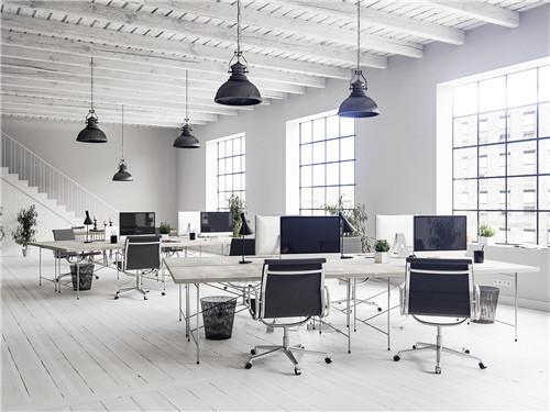 成都办公室装修设计中照明方式对办公室的影响
