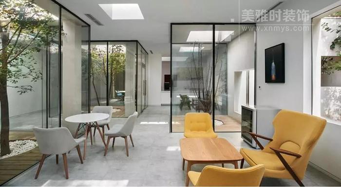简阳办公室装修设计过程对内外设计的融合
