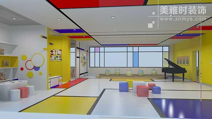 成都幼儿园装修怎么做?幼儿园装修设计要遵循的几个原则