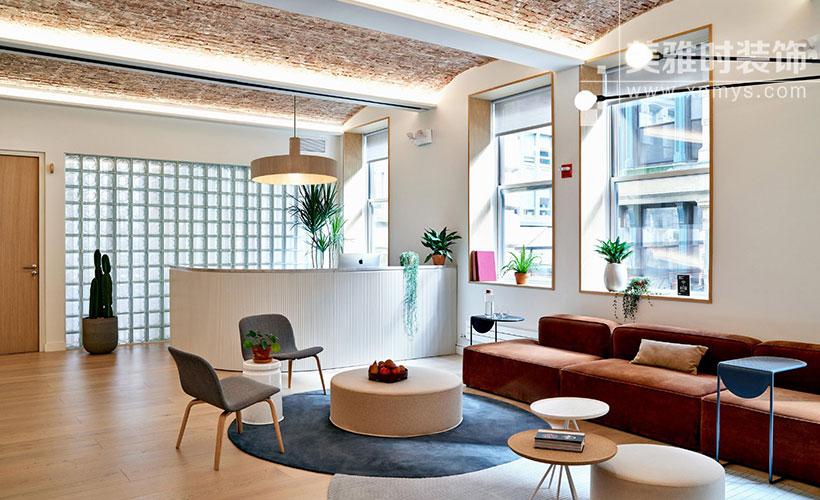 成都高新区300平简约实用办公室装修设计要点