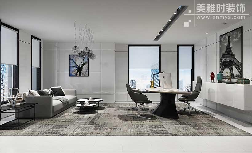 成都高新区300平写字楼室内设计装修公司
