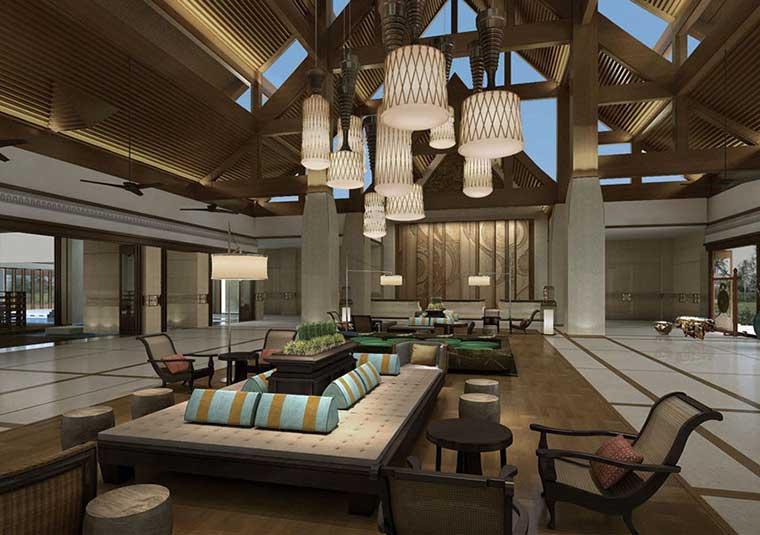 云南西双版纳喜来登度假酒店设计效果图