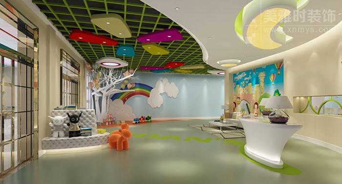 成都幼儿园装修设计与色彩如何完美搭配