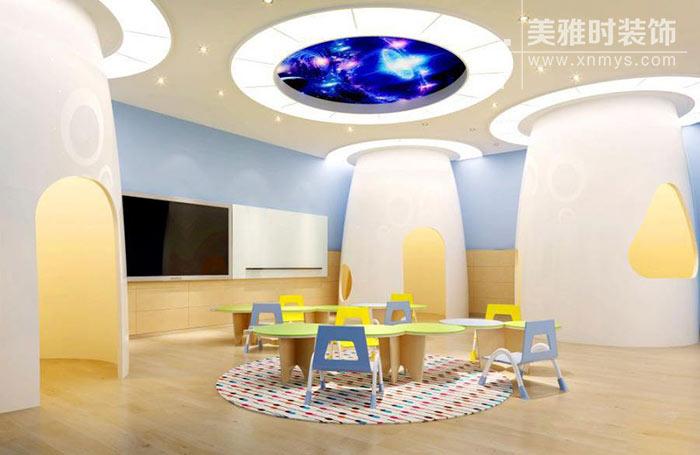 幼儿园装修布局,以及教室等室内空间设计作用