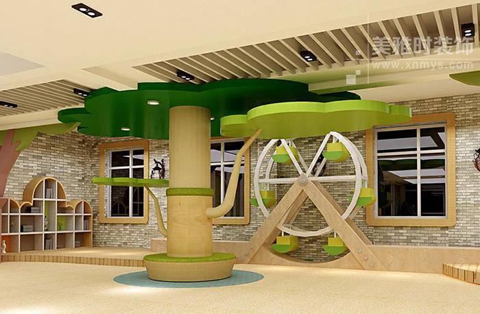 幼儿园空间装修设计布置要注意哪些内容
